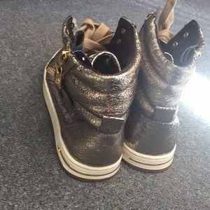 Michael Kors Shoes - Michael Kors Gold Sneakers